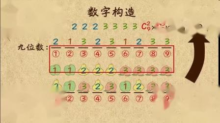 52-7 对应到数字构造的计数