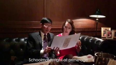 这才是真正的文化大使— —赛麟汽车王晓麟神译毛诗,美国美女高唱红歌。