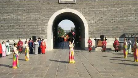 青州古城开门仪式