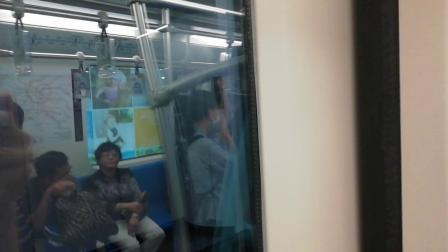 上海地铁9号线950号车嘉善路至肇嘉浜路运行过程