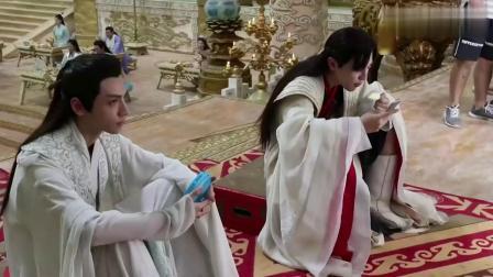电视剧《香蜜沉沉烬如霜》幕后花絮 天界吃货篇 杨紫 邓伦