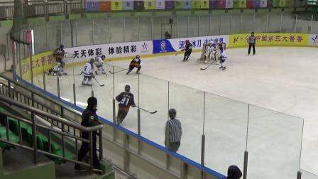 2018全国青少年中小学生U系列冰球锦标赛半决赛北京U12队VS天津U12队第2节
