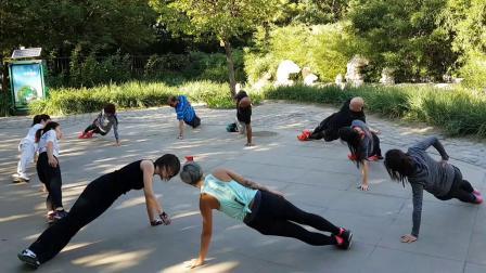和TMax在北京一起健身吧 Total body training