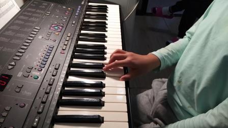 徐伟航电子琴弹奏《钢琴天天练练》