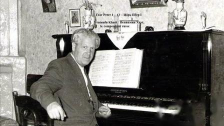 沙皇彼得大帝 Peter I / 作曲家 Benjamin /Veniamïn/ Khaèt, composer