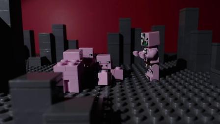 我的世界动画-乐高猪猪星球-WoodrowVillage