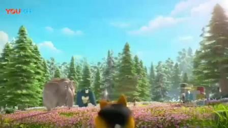我在熊出没之探险日记第2季片头曲测试版截了一段小视频