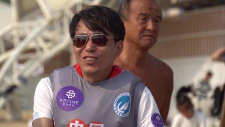 中国家庭帆船赛青岛站首日视频
