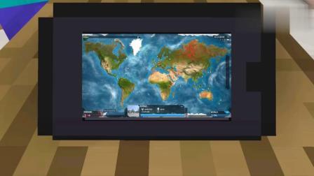 我的世界:怪物VS瘟疫公司挑战比赛,精彩动画