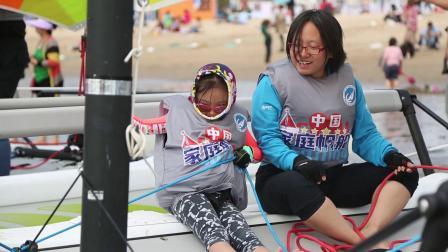 2018中国家庭帆船赛青岛站家庭参赛组合小视频
