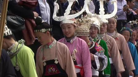 贵州三都苗族春节大跳月(视频山里居士)