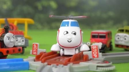 托马斯和他的朋友们总动员玩具视频