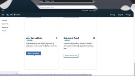 How to create a cloud native app in less than 5 minutes