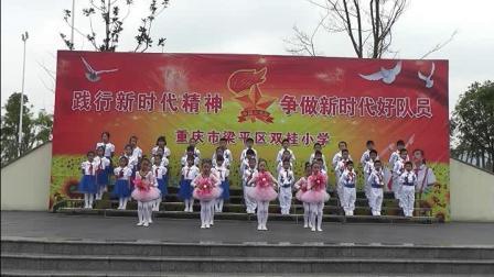 重庆市梁平区双桂小学二一中队主题队会(热爱祖国,从小立志)