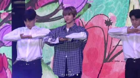Blooming Day - 江南festival K-POP演唱会 主-伯贤 饭拍版 18 10 06 - EXO边伯贤(EXO)EXO-CBX(1)