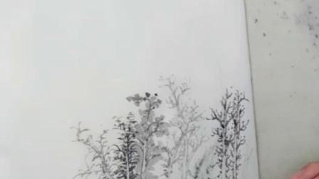 王老师示范~青卞隐居图