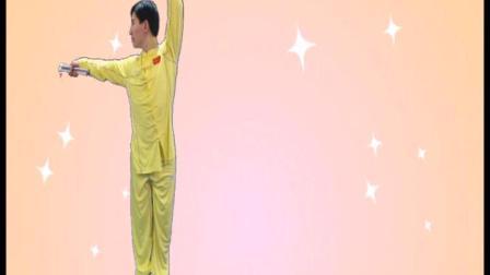 少儿武术比赛大班【双节棍】示范