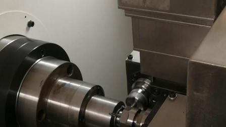车铣复合机,做缝纫机配件,效率提高7倍,精度控制更好