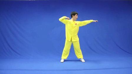 少儿武术比赛中班【虎拳】示范