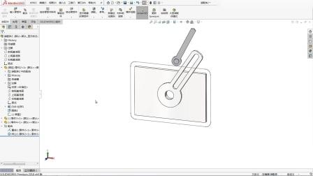 运动轨迹(套合样条曲线)和槽口的组合使用