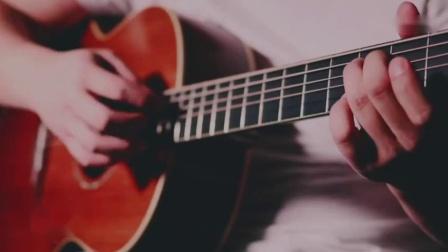 牛人吉他指弹朴树《平凡之路》泛音演奏很好听