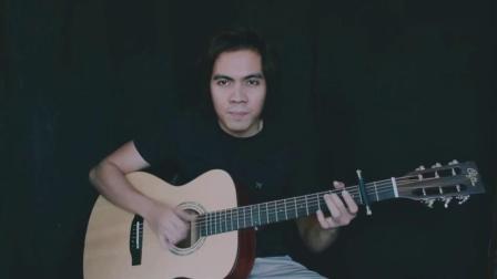 牛人指弹演奏《TuloyPaRin》一首好听的吉他曲!
