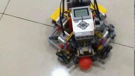 """少儿编程机器人创客人工智能乐高EV3""""世界杯""""踢球机器人"""