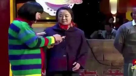 刘能小品演村寡妇,赵本