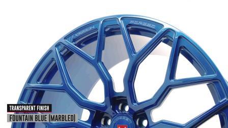 Vossen Forged _ S17-01 Wheel _ Fountain Blue