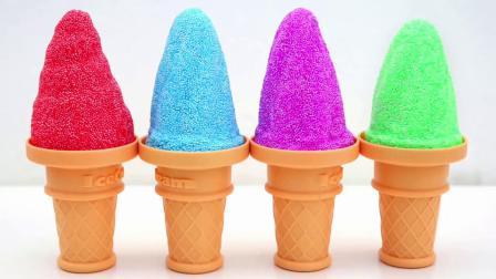 彩泥DIY小海马和冰淇淋
