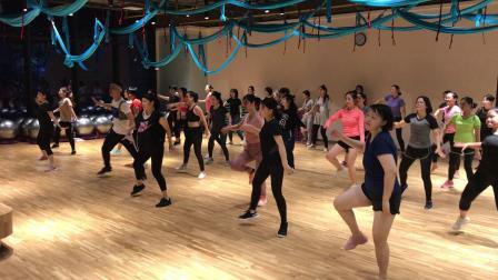 开开 健身舞#尊巴zumba##健身舞#Zumba 2018.10.11
