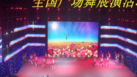 省级优秀广场舞蹈展演在希望的田野上 芳华舞蹈队