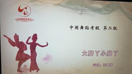 2--1大脚丫小脚丫(中国舞蹈家协会考级教材第四版 第二级)