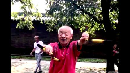 双节棍北京天坛公益教学班