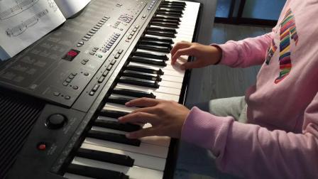 徐伟航电子琴弹奏《磨刀人》加强版