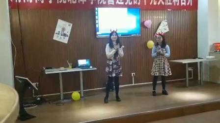 子晴茄子老师商学院万圣节表演-日语歌曲串烧