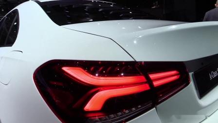 巴黎车展实拍2019 Mercedes A-Class Berline A200