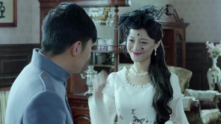 《喋血长江》罗莎闯进了莫元清的办公室让他很是吃惊