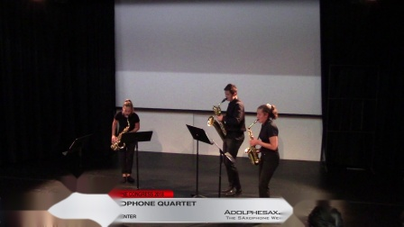 Drastic Measures (2nd Mov) by Russel Peck - Antares Sax Quartet #adolphesax