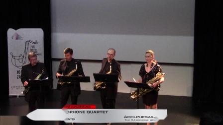 Miniatures I, II, III by Michael Nyman -  Bohemia Saxophone Quartet - XVIII Worl