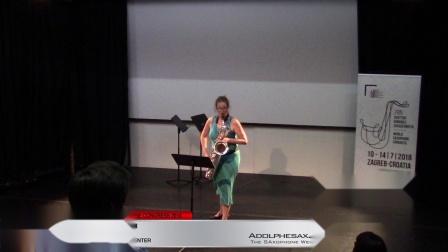 Piece 2 -  Steph Winzen - XVIII World Sax Congress 2018 #adolphesax