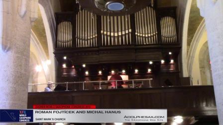 Two Songs by Vladimir Wimmer - Roman Fojticek & Michal Hanus #adolphesax