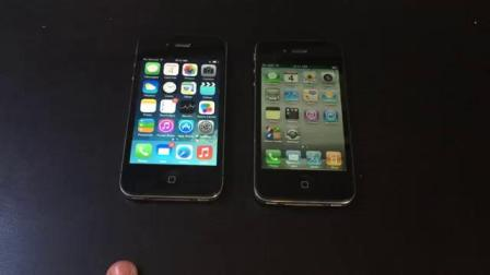 iPhone 4 从原生版本iOS到最新版本的对决 iOS 4 vs iOS 7