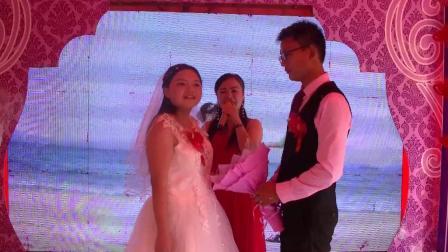 蒋自扬夏鸽结婚庆典