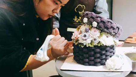 韩式裱花培训,重庆蛋糕培训哪里好
