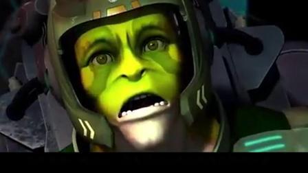 超蛙战士之威武教官,蛙族人穿上机甲,比钢铁侠还强