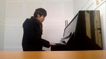 不能说的秘密 钢琴弹唱
