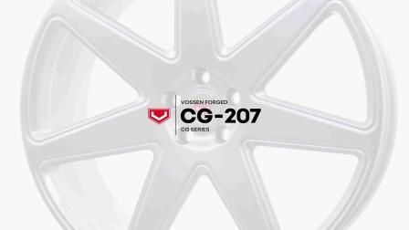 Vossen Forged _ CG-207 Wheel _ Satin Silver