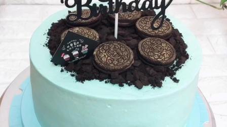 男士定制版生日蛋糕
