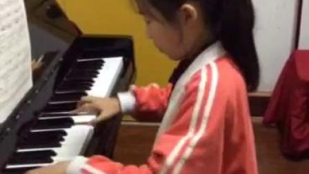 当阳市小明星艺术培训中心 李陈靖雨《舞曲》(八级)